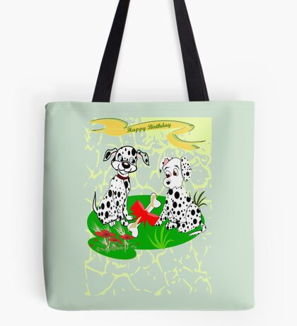 Spotty's  Birthday (8587 Views) Tote Bag