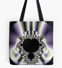 Purple n Hearts Tote Bag