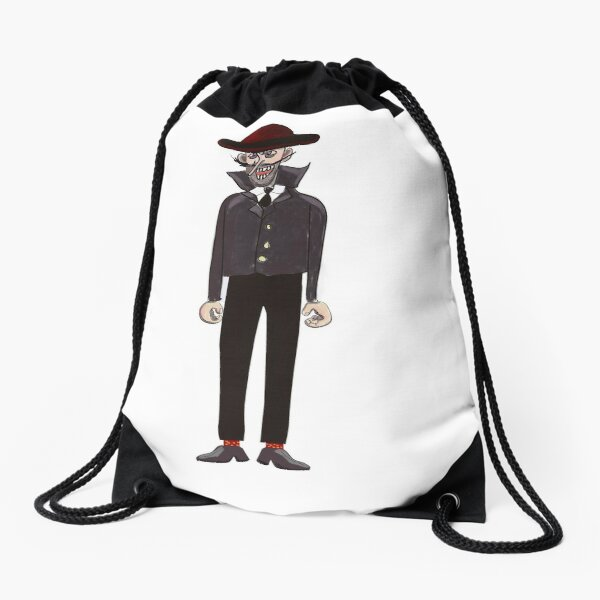 The Evil Simon Snead Drawstring Bag