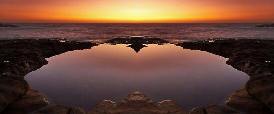 Ocean Heart by Mark  Lucey