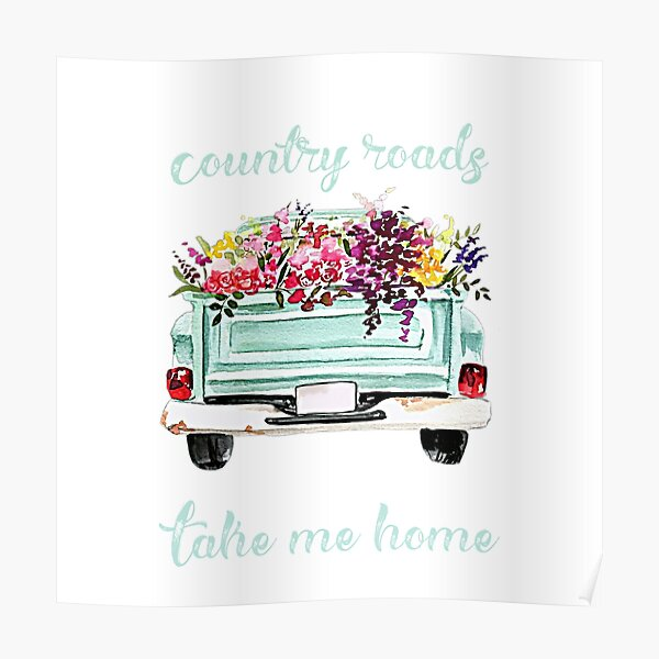 Country roads take me home  Poster