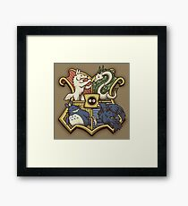 Ghibliwarts Crest Framed Print