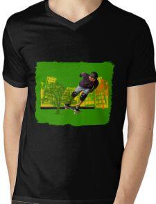 Metropolitan Life Mens V-Neck T-Shirt