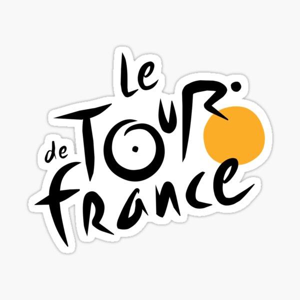 Tour De France Logo Sticker