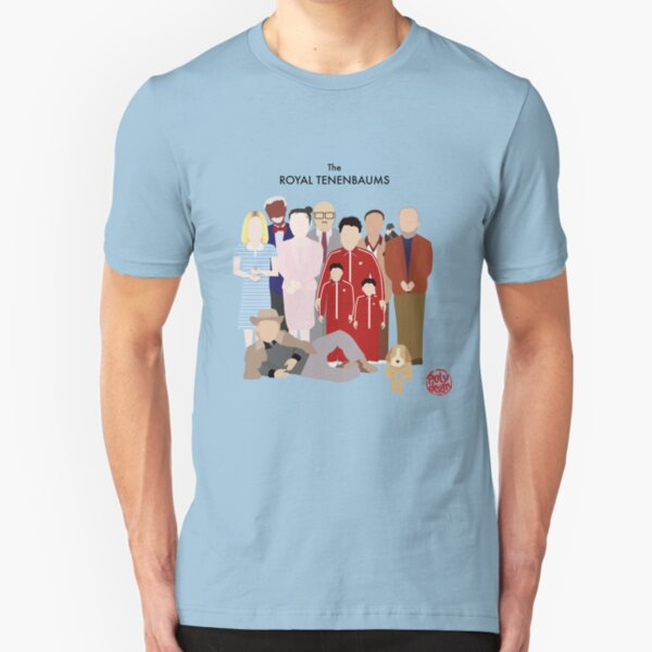 The Royal Tenenbaums Slim Fit T-Shirt