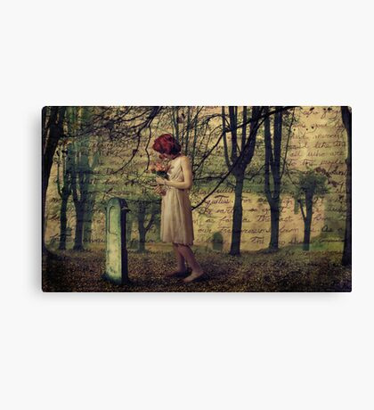 Missing You.... Canvas Print