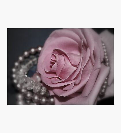 Bridal Pink Photographic Print