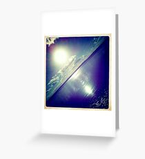 sunshine through the clouds -  Series No.2 Greeting Card