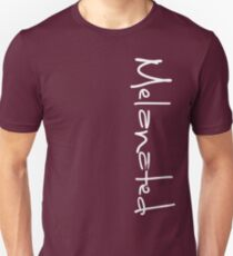 MELANATED LOGO left side Unisex T-Shirt