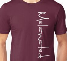 MELANATED LOGO left side Unisex T-Shirt