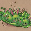 SweetPea Bunnies by justteejay