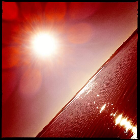 hipsta Gradient Series- Sunset ripple effects No.5 by LJ_©BlaKbird Photography