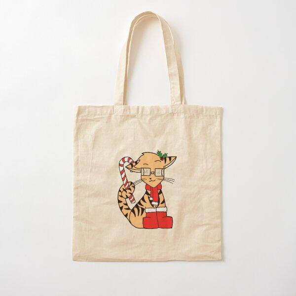TechTigers Christmas Logo Cotton Tote Bag