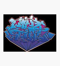 wild style graffiti ver-0.1 Photographic Print
