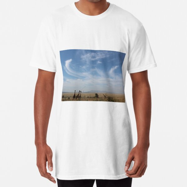 Giraffe poster Long T-Shirt