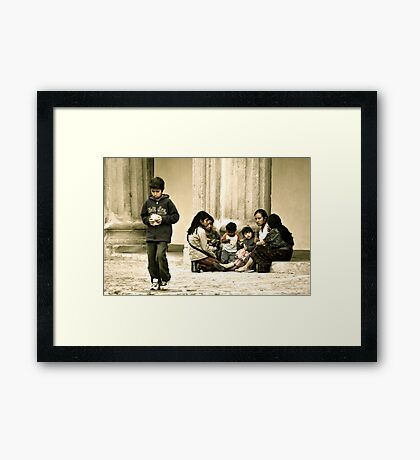 Something's Wrong Framed Print