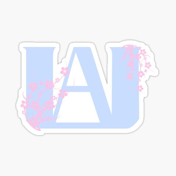 pastel ua logo Pegatina