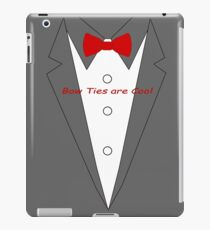 Bow Ties are Cool Tux iPad Case/Skin