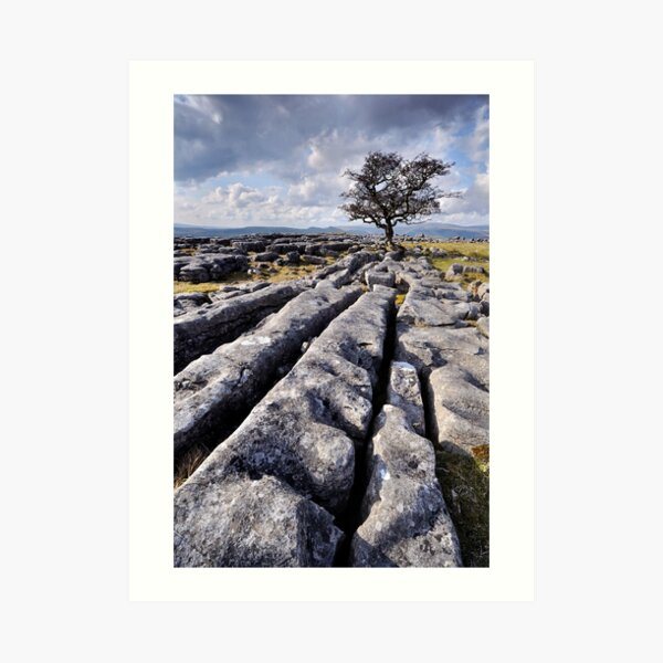 The Yorkshire Dales - Limestone Country Art Print