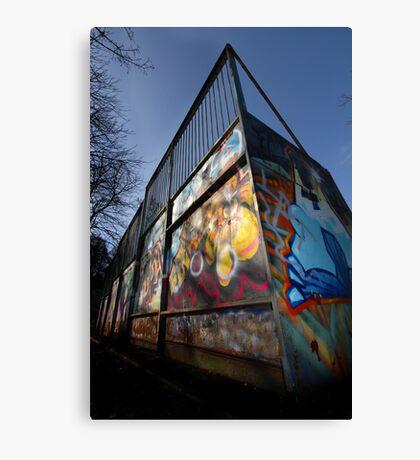 Skate Ramp - Newbury Canvas Print