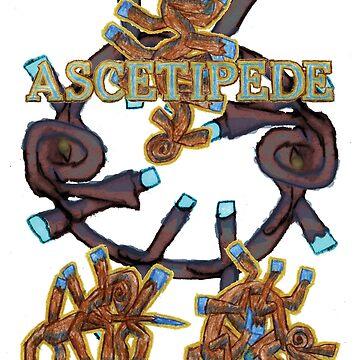 Ascetipede by foilthethree