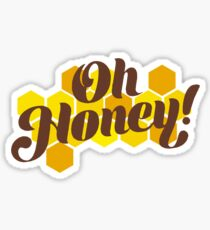 Oh Honey Sticker