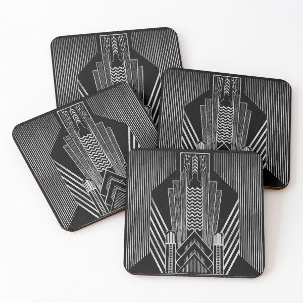Art Deco  Coasters (Set of 4)