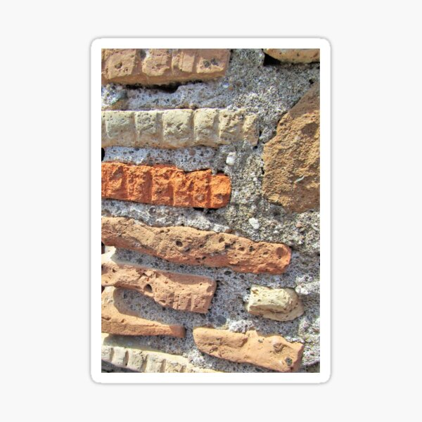 There Is Beauty In The Bricks Sticker