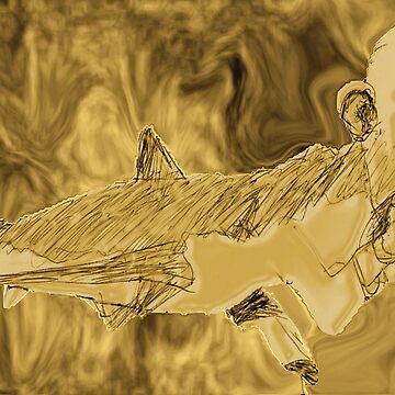 Man Shark by foilthethree