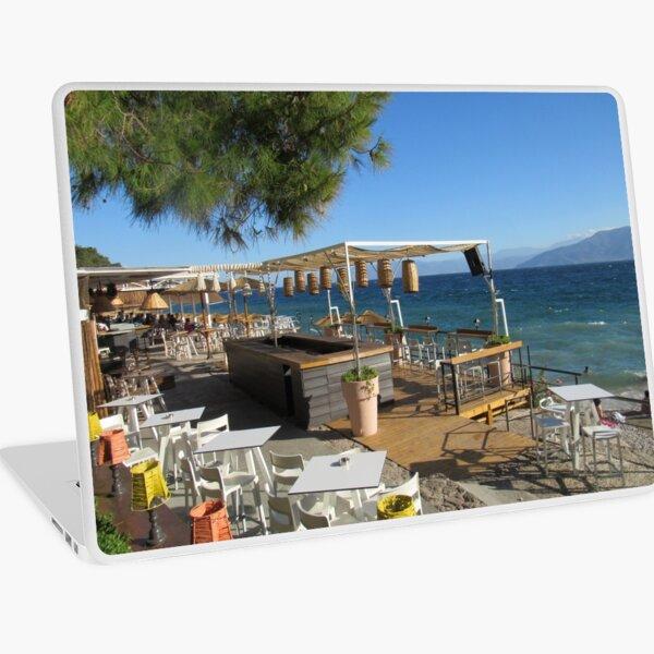 Beautiful Greek Beach Laptop Skin