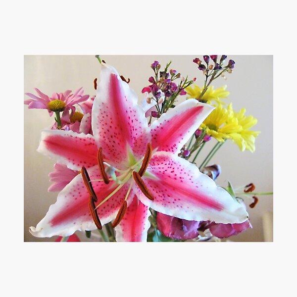 Gaze Upon This Bouquet Photographic Print