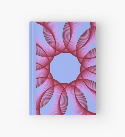 Spirograph with red Hardcover Journal