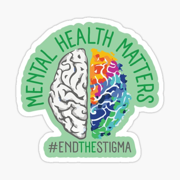 (Check out My Etsy Shop) Mental Health Matters Design Sticker
