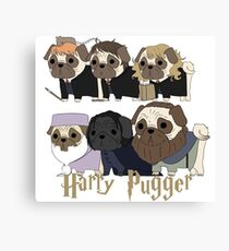 Harry Pugger Canvas Print