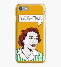 Ruth Barcan Marcus iPhone Case/Skin