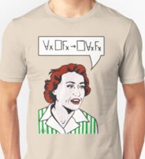 Ruth Barcan Marcus Unisex T-Shirt