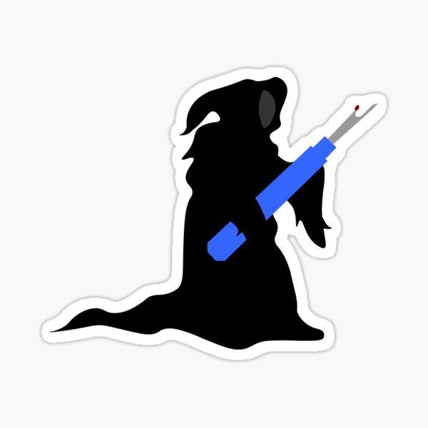 Sewing Seam Reaper  Sticker