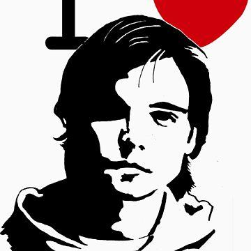 """I """"Heart"""" Andrew Lee Potts by JeffBowan"""