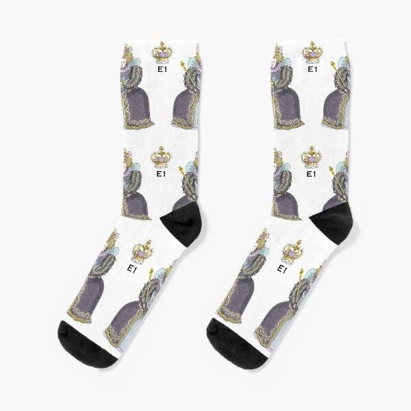 Queen Elizabeth I Socks