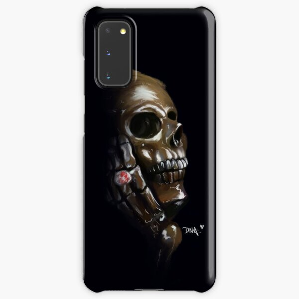 Ruby Skull Samsung Galaxy Snap Case
