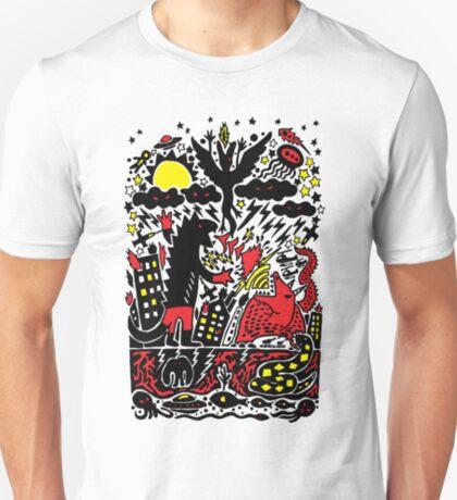 Red Black Yellow T-Shirt