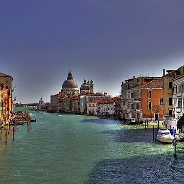 Canal Grande - View from Accademia Bridge - Venice by paolo1955