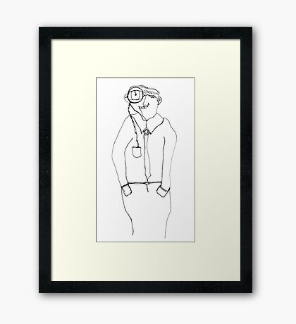 magnif-EYE Framed Print