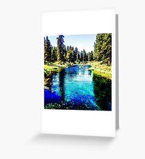Williamson river Greeting Card