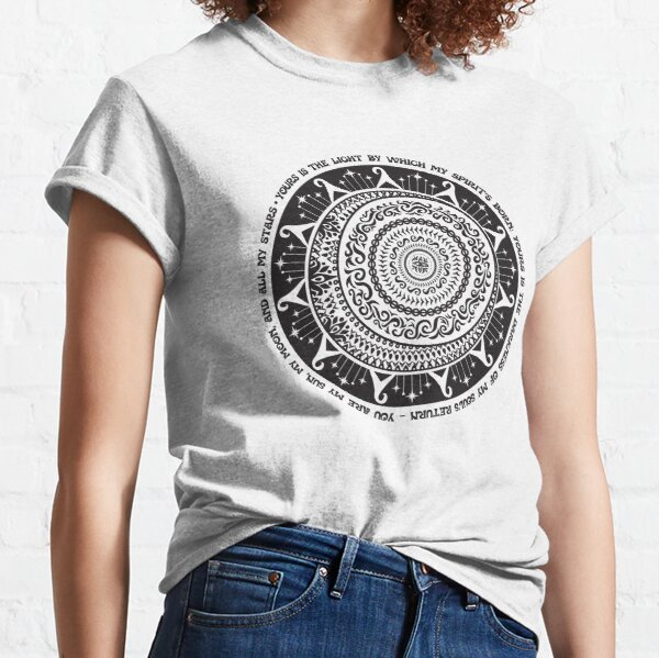 My Sun My Moon and All My Stars Quote Art Classic T-Shirt