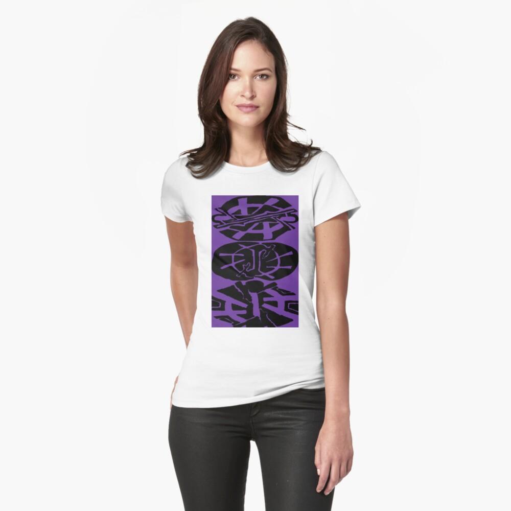 Calling All Symbols Womens T-Shirt Front