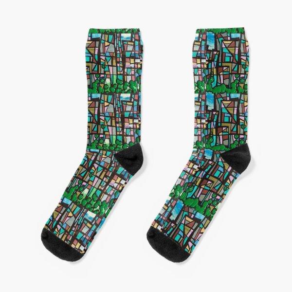Mosaic  Socks