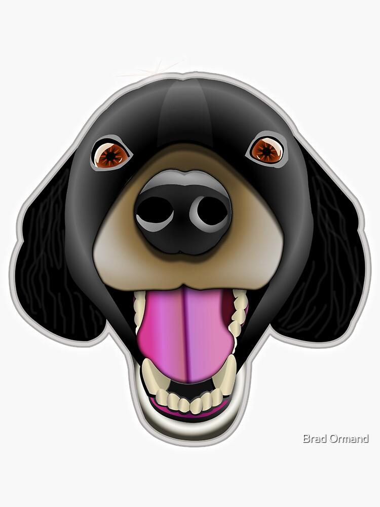 Happy Dog by BradOrmand
