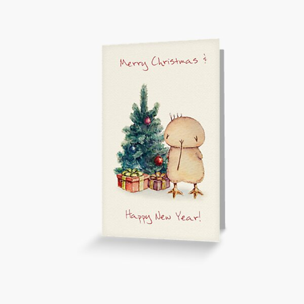 Christmas Kwii greeting cards and post cards Greeting Card
