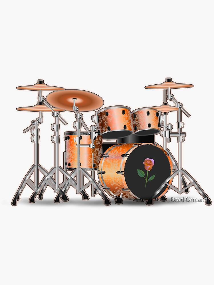 Drum Set Dream by BradOrmand